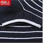 南极人(Nanjiren)NJRCW 运动防脱隐形船袜、棉袜短袜子 男船袜细条纹 10双
