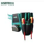 世达(SATA)95211 4袋式防水尼龙材料工具包