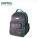 世达(SATA)GJX PLD95198 工具包 多功能耐磨防水涤纶布五金工具背包18寸