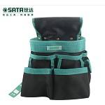 世达(SATA)95213 工具包 8袋式多功能工具腰包 电工腰包 防水尼龙材料