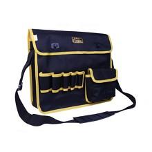 采宁(CHALLEN)多功能劳保工具包、水电清洁工帆布包 加大黑色单肩包