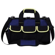idg 工具包帆布大加厚多功能维修劳保手提电工包男士工具包单肩 D5-20寸帆布包