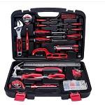 万克宝(WORKPRO)W1150 多功能实用家用工具箱套装50件套 电工木工维修五金手动工具组套