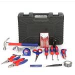 万克宝(WORKPRO)W009047N 家用工具箱套装 电工木工维修五金手动工具组套30件套