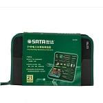 世达(SATA)03790 21件电讯工具组套 家用工具组套 电工维修包 维修工具套装 五金手动工具组套