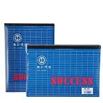 班歌 A4集计用纸便利本记事本表格纸财务专用记账本 A4横式 财务卡片