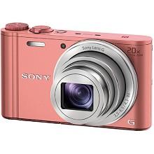 索尼(SONY)DSC-WX350 高清长焦数码照相机 粉色