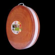 明富缘 金檀木加厚圆形剁骨无痕案板菜板 直径44cm 厚3.5cm