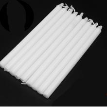 桂凤 家用照明蜡烛 直径1.5cm 高15cm 白色 25根装