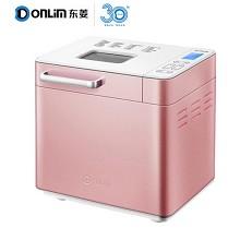 东菱(Donlim)DL-T15W 面包机全自动撒料烤烤面包机 粉色彩钢