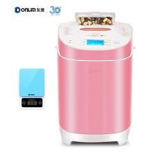 东菱(Donlim)DL-T09G 面包机无糖全自动撒料烤面包机家用早餐机和面蛋糕机