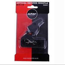 世达(STAR)足球篮球专业裁判哨 塑料无核带绳子