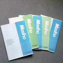 万仕龙(Maslino)A530 胶装笔记本 210*148mm 24页/本 颜色随机
