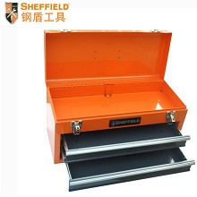 钢盾(SHEFFIELD)S025010 整理箱 2抽屉工具箱510X218X250mm 单个