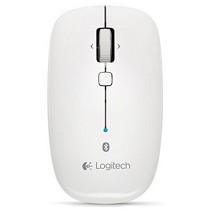 罗技(Logitech)M558 多平台连接蓝牙无线鼠标 白色