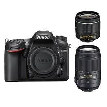尼康(Nikon)D7200 单反数码照相机 双镜头套机(AF-P DX 18-55mm f3.5-5.6G VR+DX 55-300mm f4.5-5.6G VR)