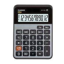 卡西欧(CASIO)MX-120B 小型商务计算器 灰色