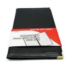 欧标 软皮便携式名片册 B2752