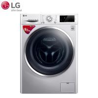 LG WD-M51BNF45 直驱变频洗烘一体LED触摸屏全自动滚筒洗衣机 奢华银 9公斤