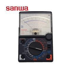 日本三和(sanwa)SH-88TR指针万用表通断检测LED灯显示35个量程可选零位中心多用表