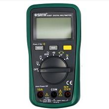 世达(SATA)03007 数字万用表掌上型多用表自动量程带频率带背光仪器仪表