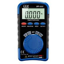 华盛昌(CEM)DT-111 数字万用表 掌上型袖珍数字万能表
