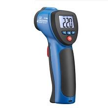 华盛昌(CEM)DT-880H非接触式红外测温仪-50~500℃高精度激光感应测温枪电子温度计 DT880H 送3样礼品+标配普通电池