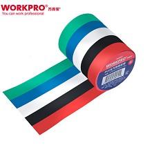 万克宝(WORKPRO)W096003N 电工绝缘胶带卷 黑色耐磨耐高温防水 其它电工附件