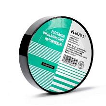伊莱科(ELECALL)ET050001K 电气绝缘胶带 耐高低温防水PVC超粘耐磨胶布