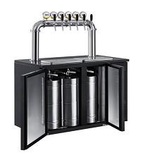 NUT 商用制冷设备扎啤机 风冷式 20L*6桶
