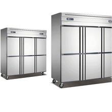 挺龙 厨房柜 六门双温内铜管 商用制冷设备 1830*760*1950