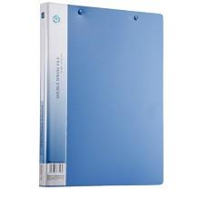 齐心(COMIX)AB151A-W A4加厚型文件夹资料夹双强力夹 颜色随机