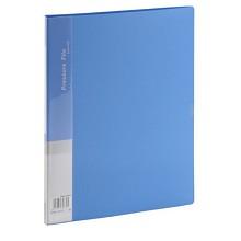 齐心(COMIX)AB600A A4文件夹资料夹单强力夹+插页 颜色随机