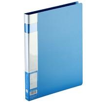 齐心(COMIX)A300 A4文件夹资料夹单弹簧轻便夹 颜色随机
