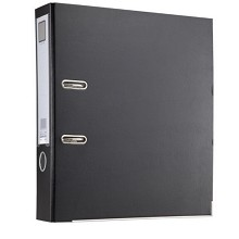齐心(COMIX)A206N A4加厚型快劳夹文件夹资料夹半包胶 颜色随机