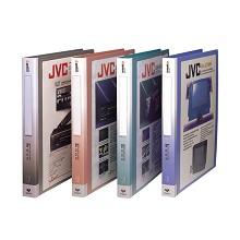 齐心(COMIX)NF406A-S A4资料册文件册文件夹20袋30孔塑胶夹 颜色随机