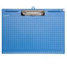 齐心(COMIX)A725 A4多功能书写板夹垫板横式带刻度 颜色随机