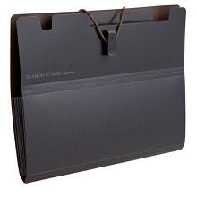 齐心(COMIX)A7626 Germini系列A5风琴包资料包文件包6袋 颜色随机