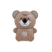 齐心(COMIX)B2465 泰迪熊自动进笔削笔机削笔器卷笔刀 颜色随机