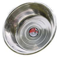 桂凤 无磁加厚不锈钢圆形大号反边斗盆 直径80cm 深8cm