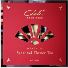 茶里(ChaLi)四季花茶礼盒(红)110g/盒