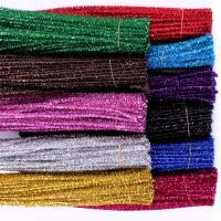 林芳 75g亮丝扭扭棒 幼儿园diy手工材料  30cm/根 100根/捆 颜色备注