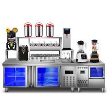 乐创(lecon)LC 厨房工作台操作台 1m