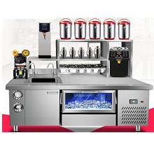 喜莱盛(Xnesen)冷冻双温咖啡店贡茶操作台厨房冰柜