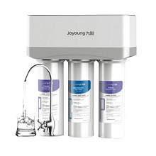 九阳(Joyoung)JYW-HC-1565WU 家用直饮净水器  银色