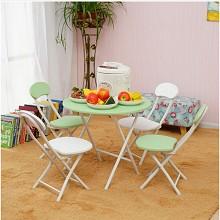 佳時尚(JVJIAVOGUE)家用餐桌圆形小号饭桌 餐桌/折叠桌/其它桌及配件