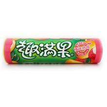 雀巢(Nestle)趣满果 情迷热带果汁软糖 迷你筒装 70g/筒