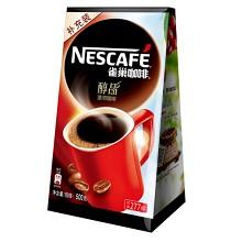 雀巢(Nestle)咖啡醇品 500g/袋+咖啡伴侣风味饮料原味 500ml/包