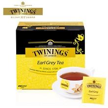川宁(TWININGS)豪门伯爵红茶 2g*50袋/盒