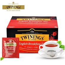 川宁(TWININGS)英式早餐红茶 2g*50袋/盒